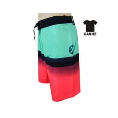 BERMUDA HURLEY PHANTOM PURE GLASS + CAMISETA PHANTOM EXCLUSIVA